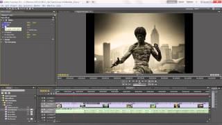 Создание слайд-шоу в Adobe Premiere, видеоурок