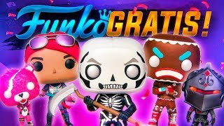 HOW TO GET THE FUNKO POPS OF FORTNITE TOTALLY FREE!!