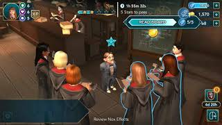Harry Potter: Hogwarts Mystery - Chapter 6 (ending nox spell and a mysterious corridor)
