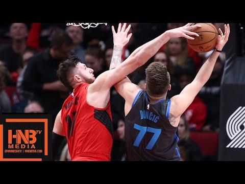 Dallas Mavericks vs Portland Trail Blazers Full Game Highlights | 12/23/2018 NBA Season