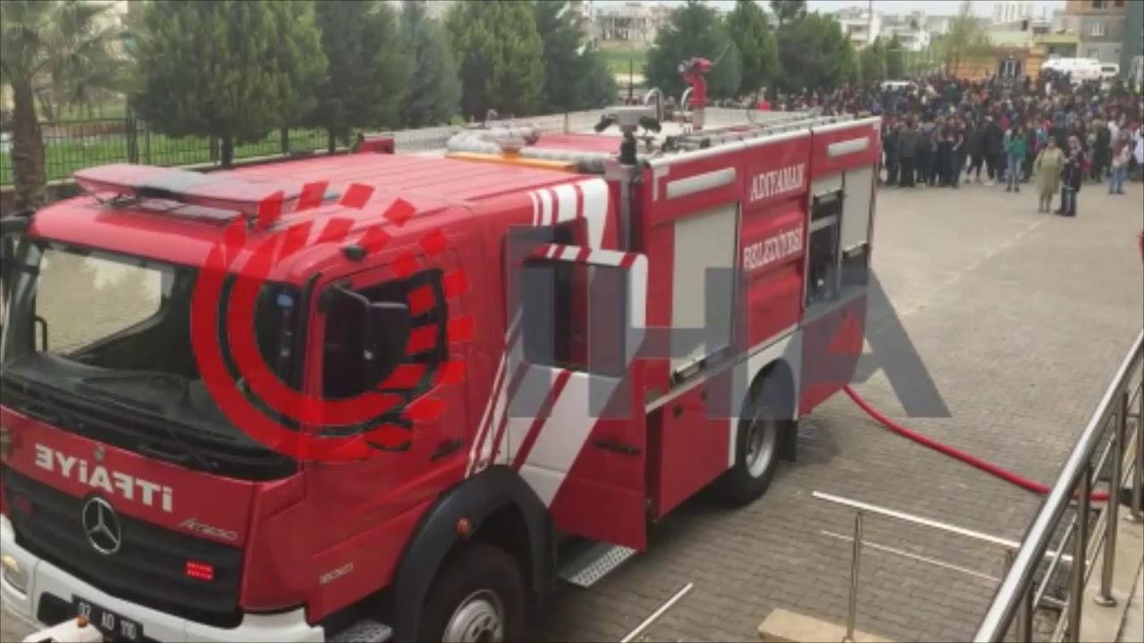 Okulda yangın paniği 6 öğrenci, 1 öğretmen dumandan etkilendi Mittel