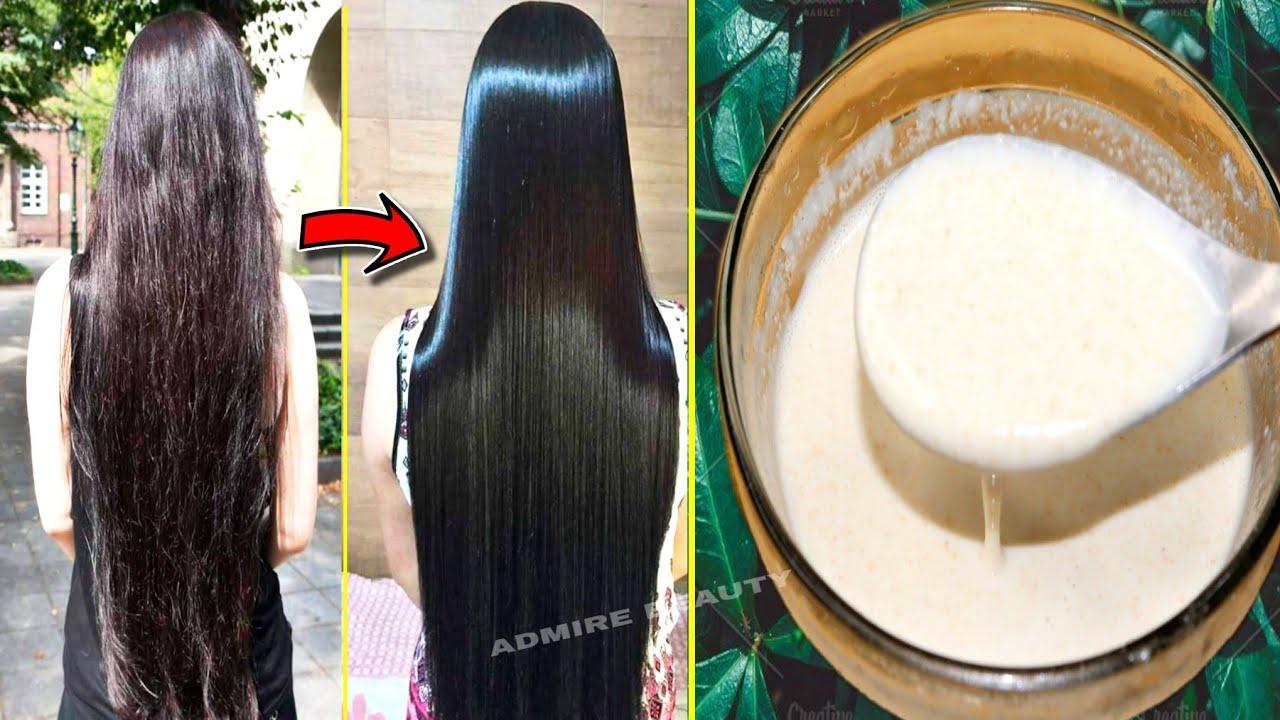 झाडू जैसे रूखे सूखे बालों को इतनी सिल्की, शाइनी और कोमल बनाने का अचूक उपाए|Hair smoothing treatment|