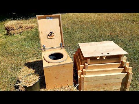 Toilettes sèches à la maison