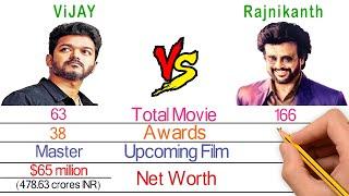 Thalapathy Vijay Vs Rajnikanth Comparison - Filmy2oons