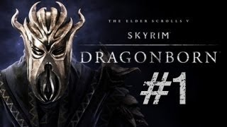 Let's Play Skyrim: Dragonborn DLC (Modded) Part 1 - Cultists, Hammer Zombies & Solstheim!