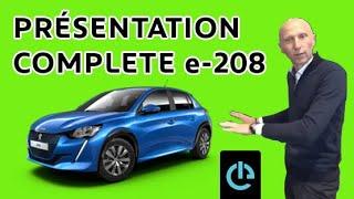 Présentation Peugeot 208 électrique : Design/Essai conso /Temps de Charge : Les Tutos de Berbiguier