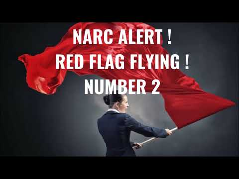 Narc Alert ! Red Flag Flying ! Number Two