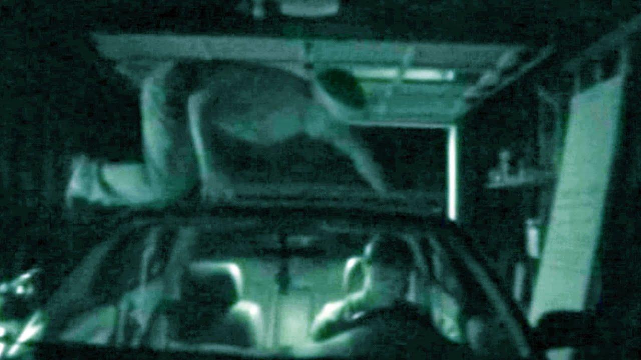Ninja Scare Prank in Garage