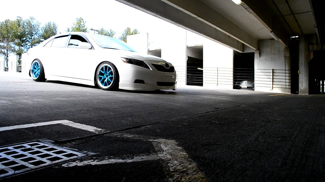 Son S Slammed Camry Scraping Hd Youtube