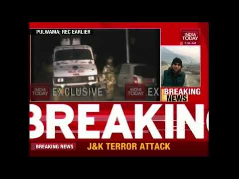 Breaking News | Pre-Dawn Terror Attack In Kashmir's Pulwama District; 2 CRPF Jawans Martyred