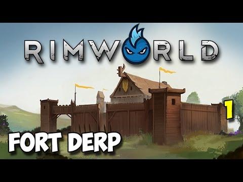 RimWorld Alpha 16 Wanderlust - Ep.1 - FIRST TRIBAL RUN - Tribal Let's Play Guide