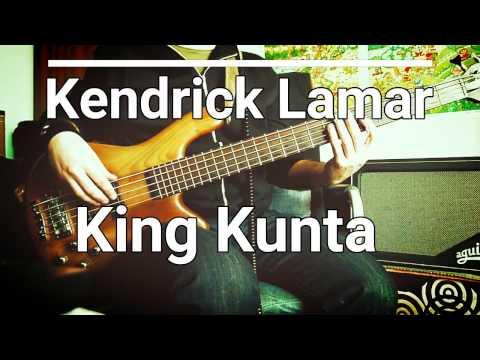 Kendrick Lamar - King Kunta [TABS] Bass Cover 🎸