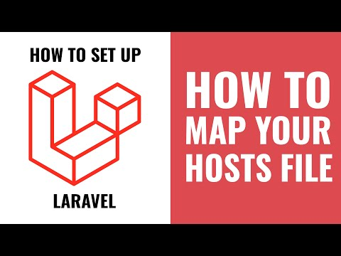 How to setup Laravel Homestead tutorial 4 - Mapping your hosts file