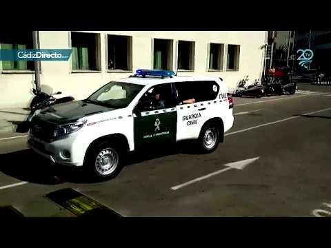 Salida de la Guardia Civil de Cádiz hacia Cataluña