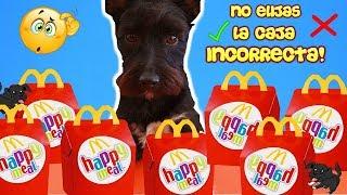 NO ELIJAS LA CAJA DE McDONALDS INCORRECTA! Retos Lana