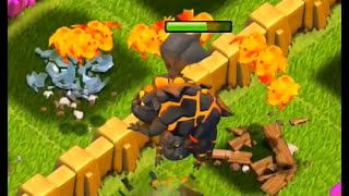 Clash of Clans - How Not To Lava Raid