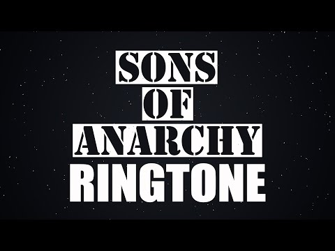 Latest IPhone Ringtone - Son Of Anarchy Ringtone