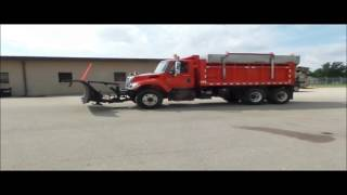 2003 International 7500 dump truck for sale | no-reserve Internet auction October 19, 2016