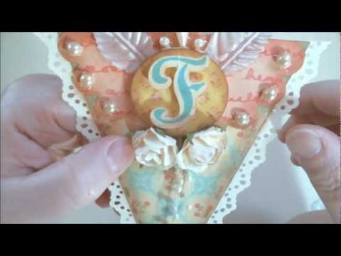 Vintage Paper Banner FAITH with Gecko Galz  & Pro 31 Designs Tutorial