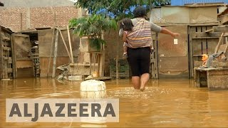 Deadly Peru floods leave thousands homeless