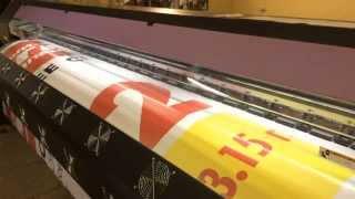 Печать баннера Mimaki SWJ 320(Печать баннера для Магнита., 2015-11-18T05:59:32.000Z)