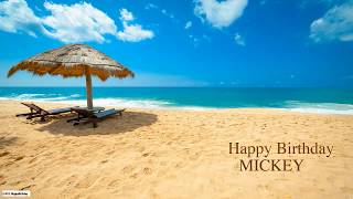 Mickey  Nature & Naturaleza - Happy Birthday