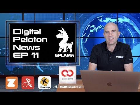 Digital Peloton News EP11: Peloton / Watteam / TrainerRoad / Kinomap / Road Grand Tours / Zwift
