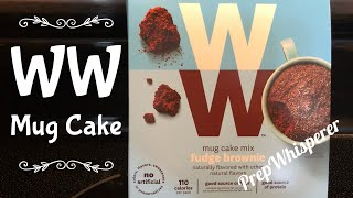 WW Mug Cake Review....  Was it good or not good ???