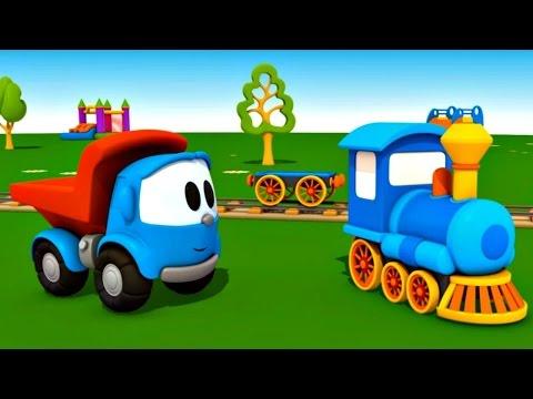 Leo le camion curieux leo junior dessin anim ducatif - Leo le camion pompier ...