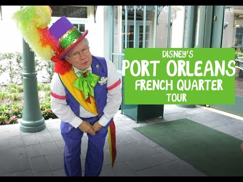 Disney's Port Orleans French Quarter Check-in & tour