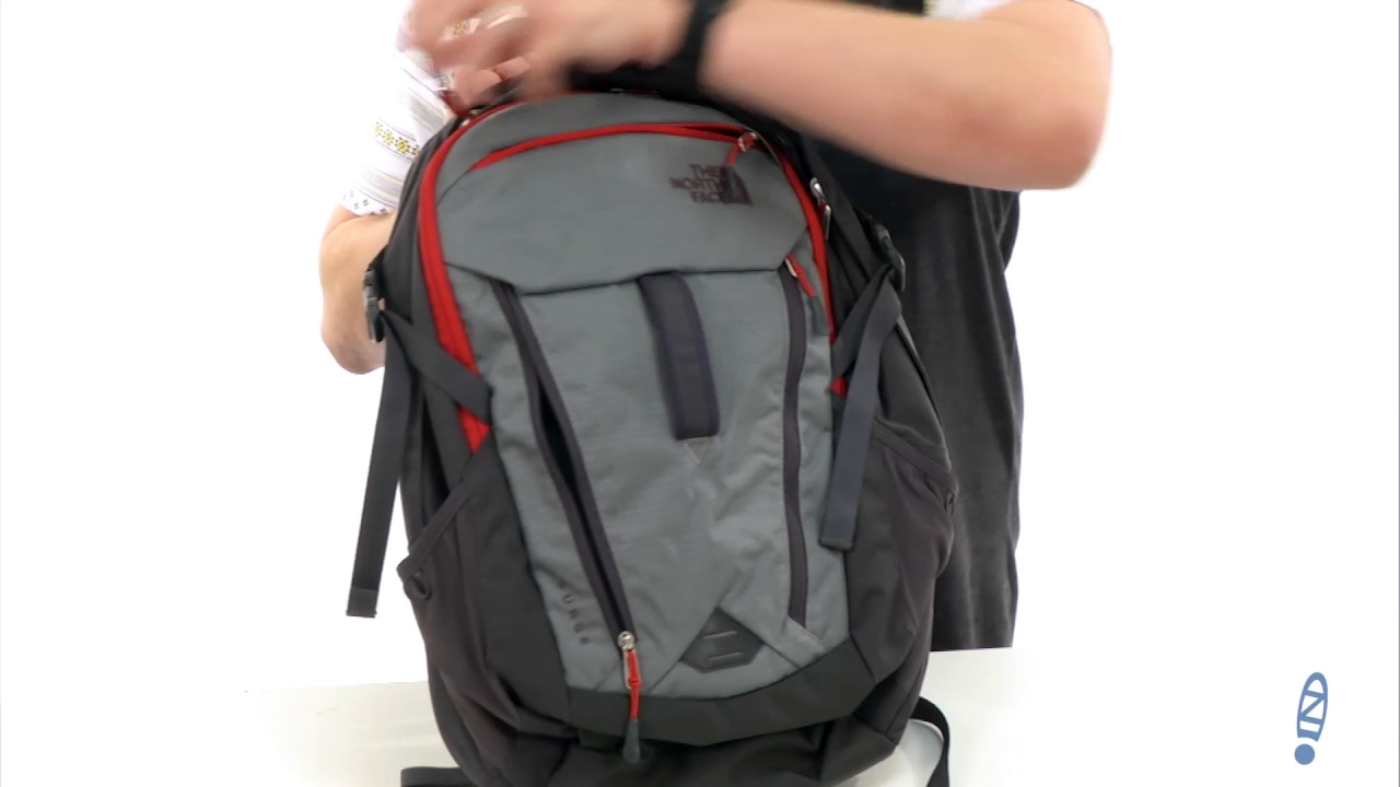 f75771793f The North Face Surge Backpack at Zappos.com