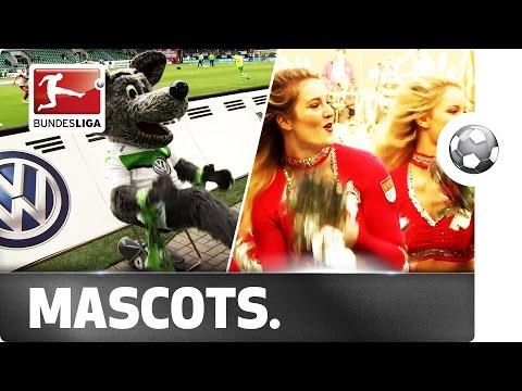 Mascots and Cheerleaders Join the Bundesliga Show!