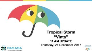 Press Conference: Tropical Storm