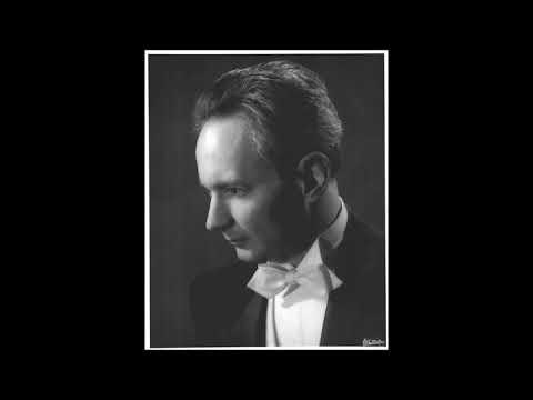 Sidney Foster plays Rachmaninoff Sonata No. 2 in B-flat Minor, Op. 36,  live performance, 2/2/1974.