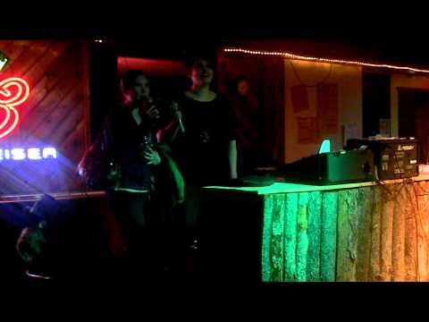 Kolby & Tanya Singing Karaoke At The Royal In Ponoka, Alberta