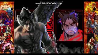 Gambar cover M.U.G.E.N Devil Jin vs Kage
