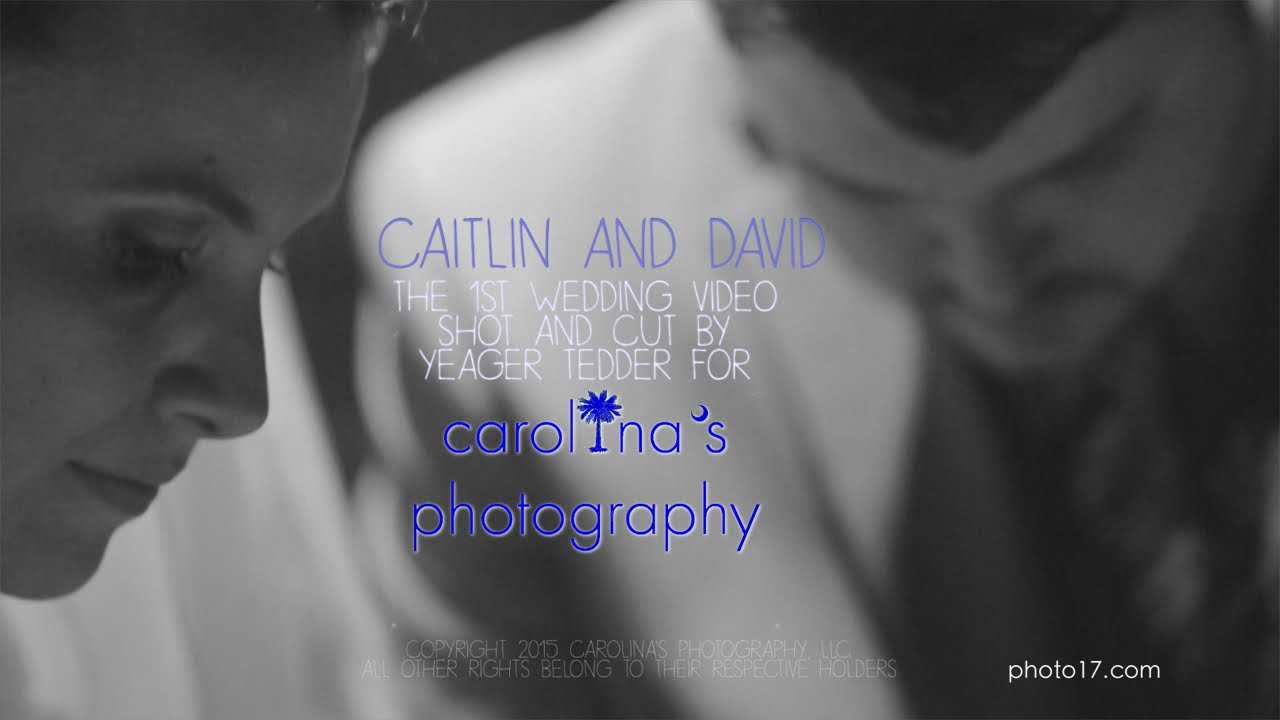 Charleston, South Carolina Aquarium Wedding Video | Caitlin + David