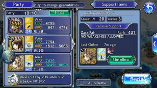 [DFFOO Event] Another Realm Pt. 2