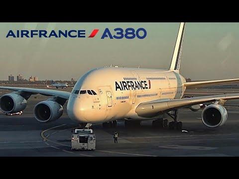 Air France Airbus A380 🇺🇸 New York JFK ✈️ Paris CDG 🇫🇷 Upper Deck  [FULL FLIGHT REPORT]