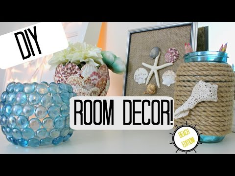 DIY ROOM DECOR IDEAS- BEACH THEME -Pinterest Inspired &amp; Cheap!<a href='/yt-w/fujt-NZHYsA/diy-room-decor-ideas-beach-theme-pinterest-inspired-amp-cheap.html' target='_blank' title='Play' onclick='reloadPage();'>   <span class='button' style='color: #fff'> Watch Video</a></span>