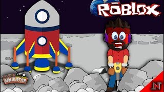 ROBLOX Indonesia #132 Mining Simulator | Mining on other planets for money