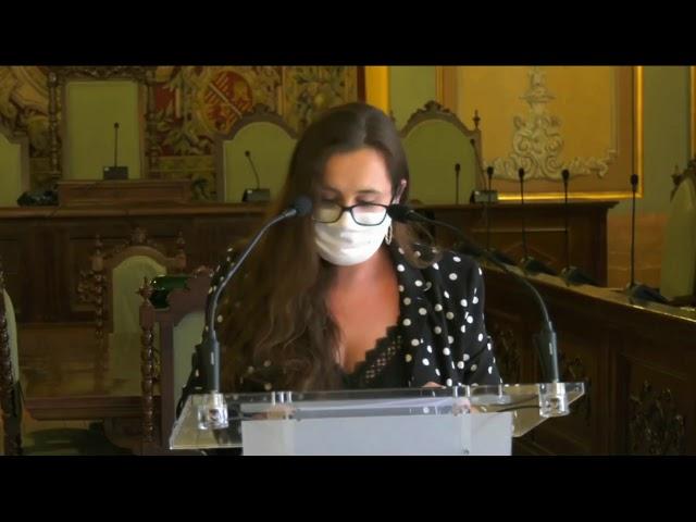 Elena Ferre agraeix la col·laboració i l'esforç de la ciutadania en aquests dies tan difícils