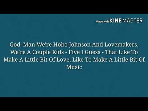 Hobo Johnson & The Lovemakers- 2018 NPR Tiny Desk Contest (Peach Stone)-(Lyrics)