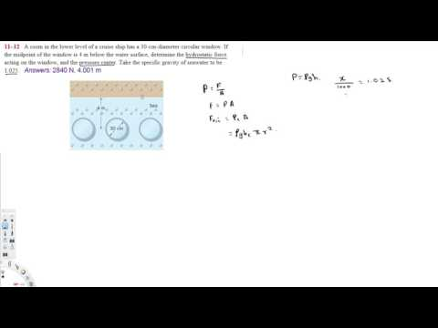 Fluid Statics - Thermofluids