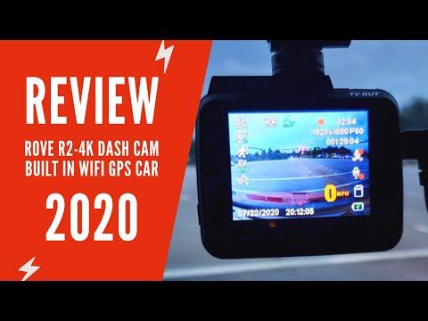 Rove R2-4K Dash Cam Review | Rove R2-4K Dash Cam Manual & Installation | Rove 4K Dash Cam
