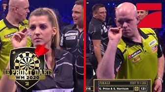 FINALE: Michael van Gerwen & Pascal Hens vs Sarah Harrison & Price | Promi Darts WM 2020 | ProSieben