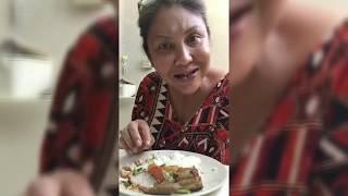 Masak Apa Masak Mystyle Stingray with Salted Veggies (Ikan Pari Sayur Asin)