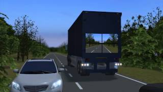 Samsung's develops 'see-through' trucks to improve road safety - TomoNews