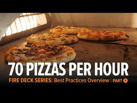 Rotation Strategy   Up To 70 Pizzas Per Hour | Fire Deck Series Ovens Part 5