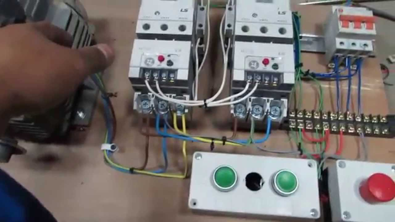 how to use magnetic contactor youtube rh youtube com magnetic contactor wiring diagram single phase magnetic contactor wiring diagram pdf